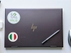 Flag Sticker of Italy on laptop