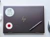 Flag Sticker of Japan on laptop