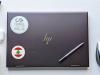 Flag Sticker of Lebanon on laptop