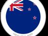 Flag Sticker of New Zealand