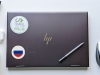 Flag Sticker of Russia on laptop