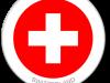 Flag Sticker of Switzerland