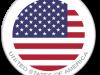 Flag Sticker of USA