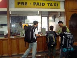 Prepaid Taxi Stand at Mumbai International Airport