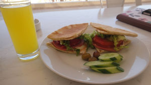 Breakfast at Red Sea Dive Center