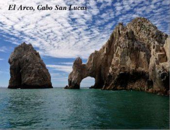 Postcard of El Arco, Baja California, Mexico