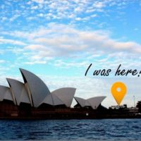Postcard of Sydney Opera House, Sydney, Australia