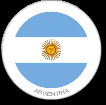 Flag Sticker - Argentina