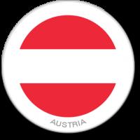 Flag Sticker - Austria