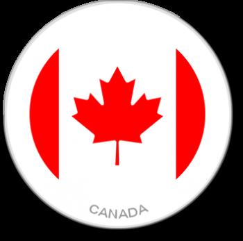 Flag Sticker - Canada