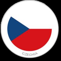 Flag Sticker - Czechia