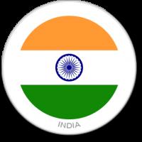 Flag Sticker - India