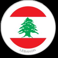 Flag Sticker - Lebanon