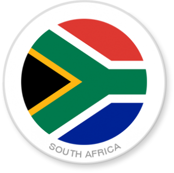 Flag Sticker - South Africa