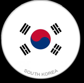 Flag Sticker - South Korea