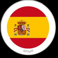 Flag Sticker - Spain