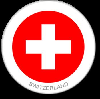 Flag Sticker - Switzerland