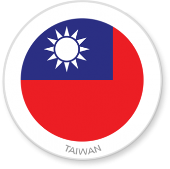 Flag Sticker - Taiwan