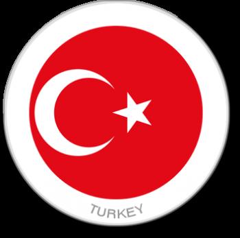 Flag Sticker - Turkey