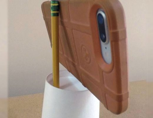 Travel Hack: Home-Made Phone Mount for Airline